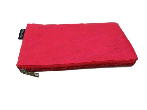 pochette_femme_papier_kraft_ecologique_naturel_rouge_auctor.fr