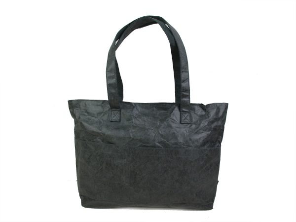 sac_shopping_cabas_gris_naturel_papier_kraft_recyclé_auctor.fr
